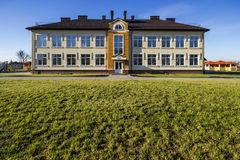 Ivano-Frankivsk Ukraina, Grudzień, - 22, 2017: Nowy nowożytny buildin Obrazy Royalty Free