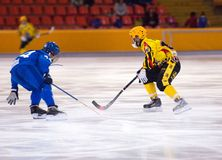 Ivanov N. (44) vs Potemin D. (61) Royalty Free Stock Image