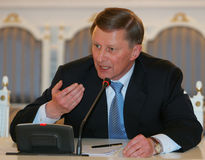 Ivanov, Russia's First Deputy Prime Minister Royalty Free Stock Images