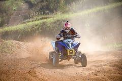 Ivanov Sergey 9, ATV-sport photos libres de droits