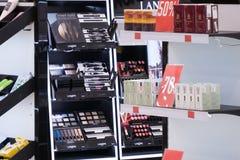 Ivanovo, Russia, February 20, 2021, the Cosmetics store, showcase, editorial