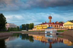 Ivanovo in summer evening Royalty Free Stock Images