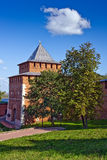 Ivanovskaya tower of Nizhny Novgorod kremlin Stock Image