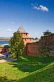 Ivanovskaya tower of Nizhny Novgorod kremlin. Russia Royalty Free Stock Image