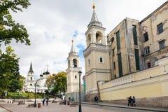 Ivanovsky ST John η βαπτιστική μονή στη Μόσχα Στοκ Φωτογραφία