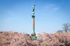 Ivar Huitfeldt Column, Copenhague image libre de droits