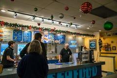 Ivars Seafood Bar Royalty Free Stock Photos