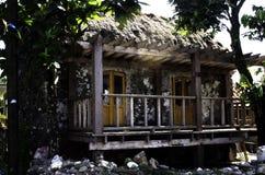 Ivatan-Haus ruiniert Batanes Philippinen Lizenzfreies Stockfoto