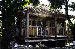 Ivatan House Ruins Batanes Philippines Royalty Free Stock Photo