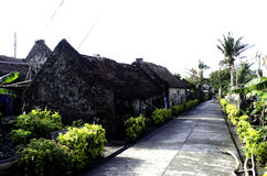 Ivatan Old Houses Ruins Batanes Philippines Stock Image