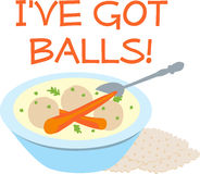 Ive Got Matzo Balls Stock Photography