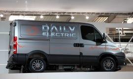 Iveco Dagelijkse Elektrische Bestelwagen royalty-vrije stock fotografie