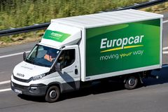 Free Iveco Daily Of Europcar On Motorway Stock Image - 123253111