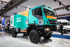 IVECO Dakar race truck Royalty Free Stock Images