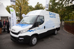 IVECO DAILY Electric Transporter Stock Images