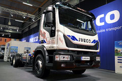 Iveco Eurocargo Truck of JW Helenius Stock Photo