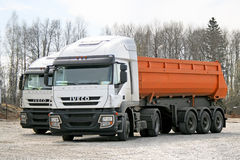 Iveco Stralis AT430 stock foto