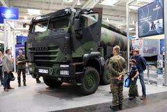 Iveco Trakker Militaire Vrachtwagen royalty-vrije stock foto's
