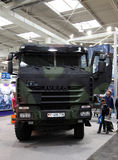 Iveco Trakker Militaire Vrachtwagen stock fotografie
