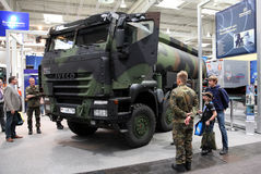 Iveco Trakker Military Truck Royalty Free Stock Photos