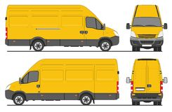 Iveco transportent Images stock