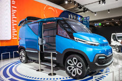 IVECO VISION Concept Van Stock Images