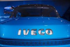 IVECO wzroku pojęcie Van Obraz Stock