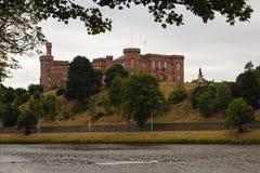Iverness Castle στοκ φωτογραφία με δικαίωμα ελεύθερης χρήσης