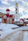 iversky修道院俄国翼果 免版税图库摄影