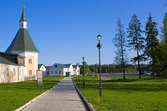 Iversky Monastery Stock Photos