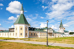 Iversky Monastery in the Novgorod region Royalty Free Stock Images