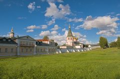 Iversky monastery Royalty Free Stock Images
