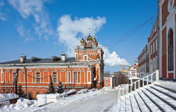 Iversky monastery in Samara Royalty Free Stock Photo