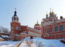 Iversky monastery in Samara, Russia Stock Photos