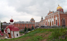 Iversky monastery in Samara, Russia. Stock Image