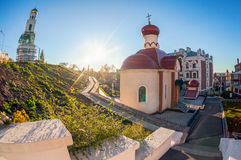 Iversky monastery in Samara Royalty Free Stock Images