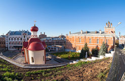 Iversky monastery in Samara, Russia Royalty Free Stock Image