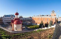 Iversky monastery in Samara, Russia Royalty Free Stock Image
