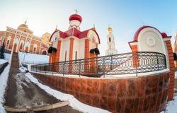 Iversky monastery in Samara, Russia Stock Image