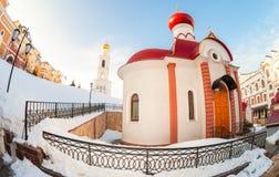 Iversky monastery in Samara, Russia Stock Photography