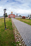 Iversky monastery in Valdai, Russia. Stock Photo