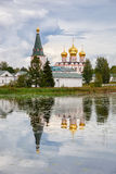 Iversky monastery in Valday, Russia Stock Photos