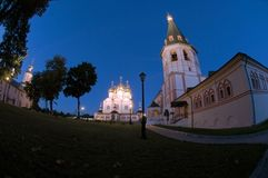 Iversky Svyatoozersky Virgin Monastery Stock Photo