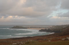 Ives, Cornwall Stockbilder
