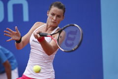 Iveta Benesova in WTA Prague open Royalty Free Stock Photo