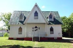 Ivey-Ellingtonhaus in im Stadtzentrum gelegenem Cary Lizenzfreies Stockbild