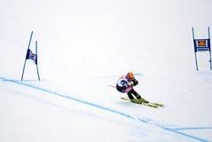 Ivica Kostelic  - Fis World Cup. Ivica Kostelic  (Croatia) - Val Gardena Gröden, Italy - Super G - FIS Alpine Ski World Cup - 19 December 2008 Stock Photo