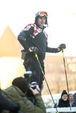 Ivica Kostelic pozuje przy FIS Światowym Śnieżnym dniem Fotografia Stock