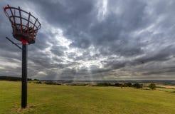 Ivinghoe bakan na Chiltern wzgórzach england zdjęcie royalty free