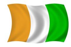 ivoir флага Коута d Стоковая Фотография RF